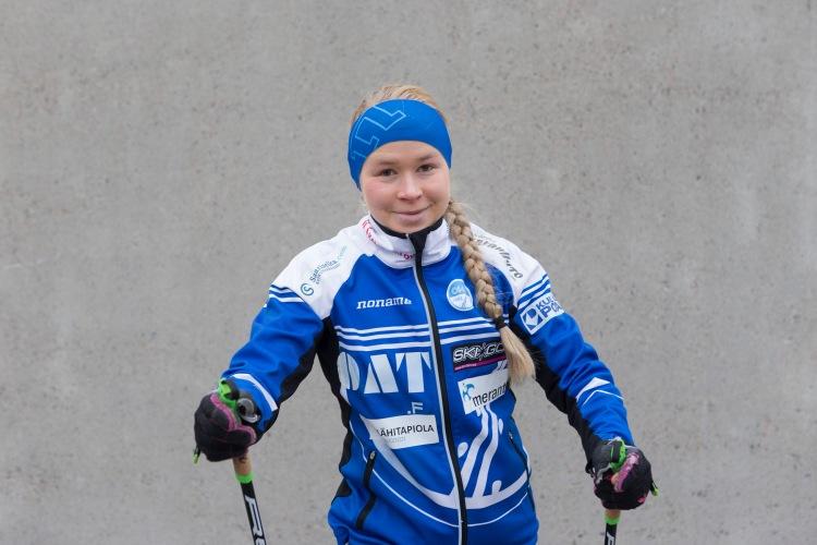 Hiihtäjä Anna_kaisa Saari